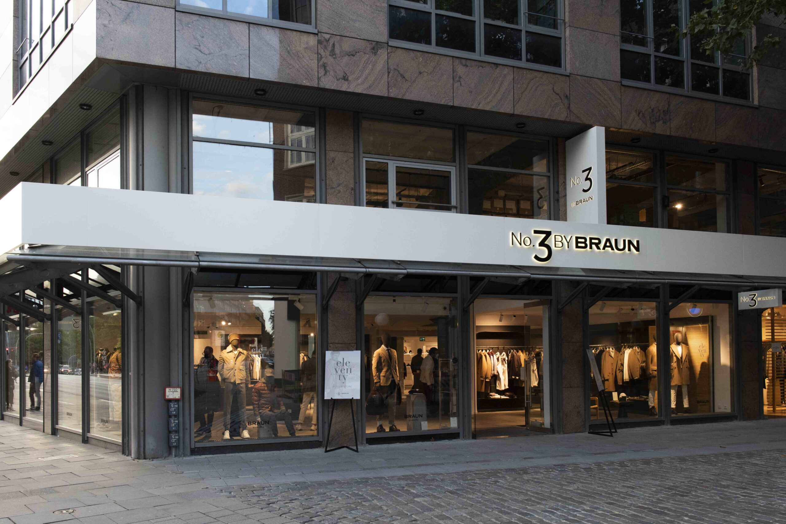 Eleventy apre un pop-up nel nuovo concept store No. 3 by BRAUN
