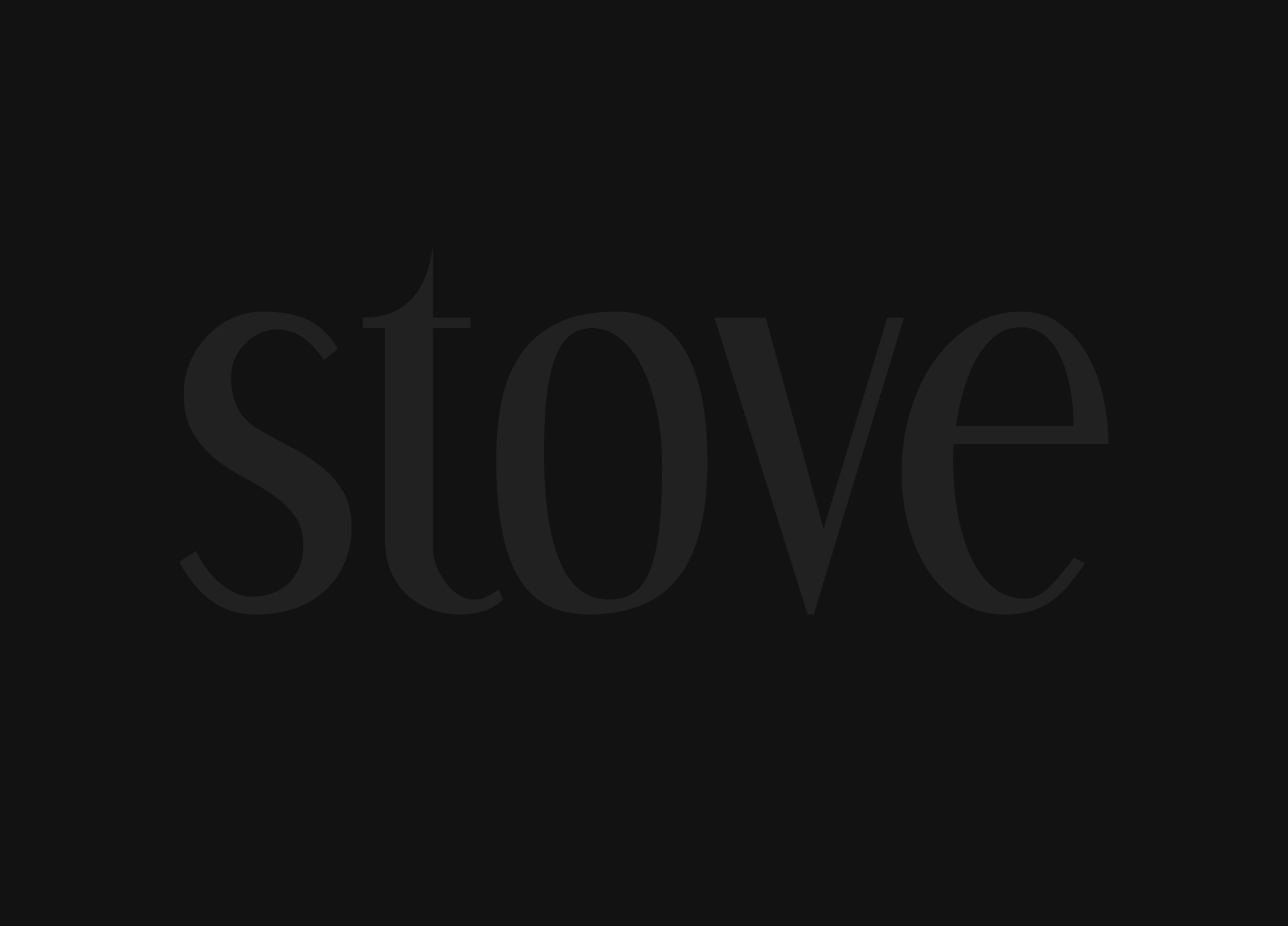 stove popup newsletter