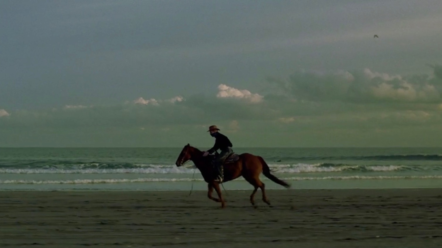 Jieda: A man and a horse