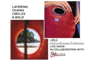 Homi Fashion&Jewels Exhibition: il live show