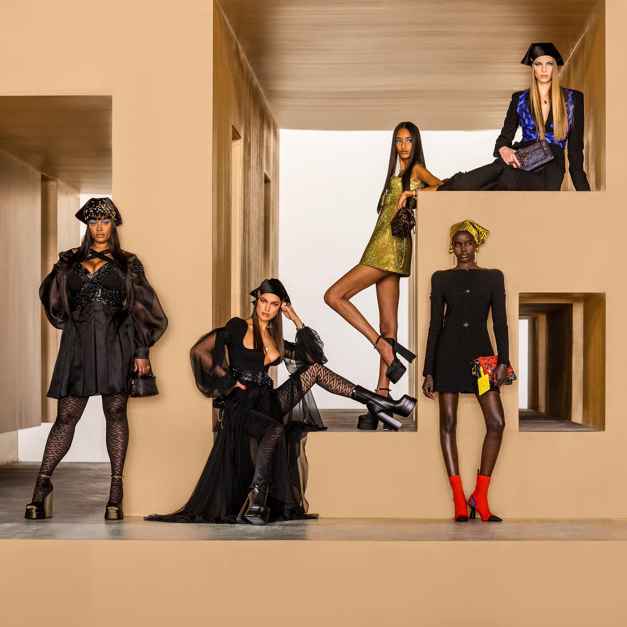 Versace: step inside La Greca