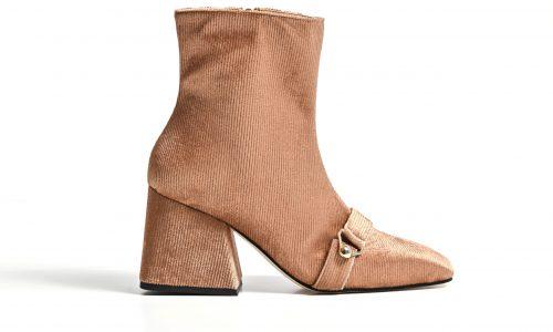 Simone Castelletti_golden velvet ankle boot (1)